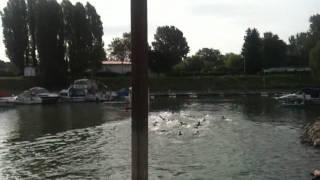 TriStar111 Worms Germany Swim Start