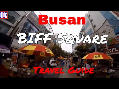 Busan | Busan International Film Festival (BIFF) Square | Travel Guide | Episode# 4