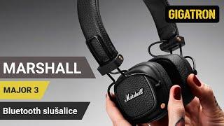 Do 30 sati bežičnog slušanja muzike uz Marshall Major 3