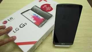 Unboxing: LG G3 16 Gb 2GB RAM 4G LTE