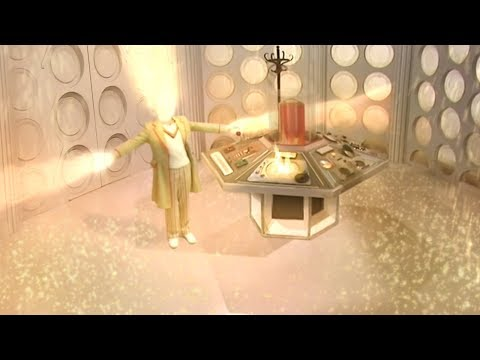 The Fifth Doctor regenerates except the year is 2010