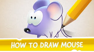 How to Draw Mouse from Cut the Rope: Magic