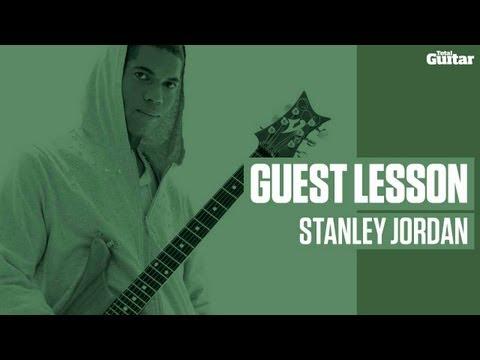 Stanley Jordan guest guitar lesson (TG229)