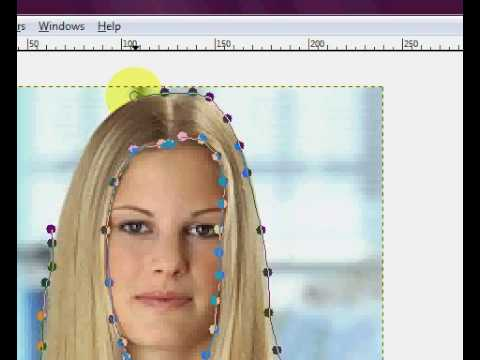 How To Change Hair Color In Gimp Youtube