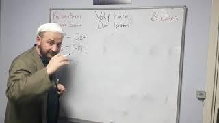 8.Ders (2.Bölüm) Durak/Vakıf Harfleri (Secavend Harfleri)-Kuran-ı Kerim Öğreniyorum Pratik Anlatım
