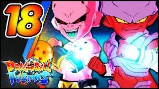 Ex-fusion! majin janemboo erscheint! - #18 - let's play dragonball fusions