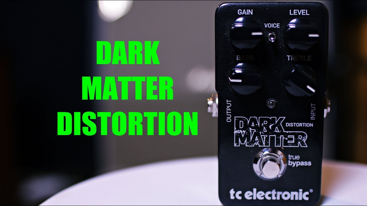 tc electronic dark matter distortion pedal review a cheap distortion youtube. Black Bedroom Furniture Sets. Home Design Ideas