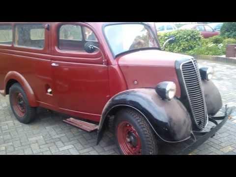 Fordson E83W Utility Van