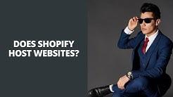 Does Shopify Host Websites? Shopify Web Hosting