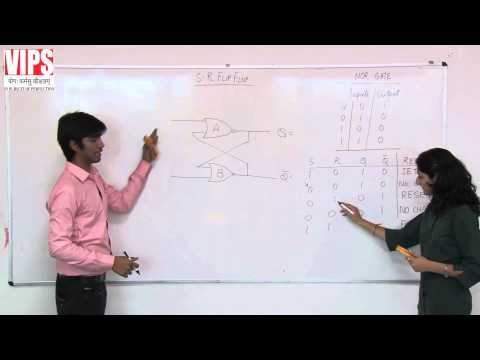 SR Flip Flop and Clocked SR Flip Flop ( Digital Electronics )