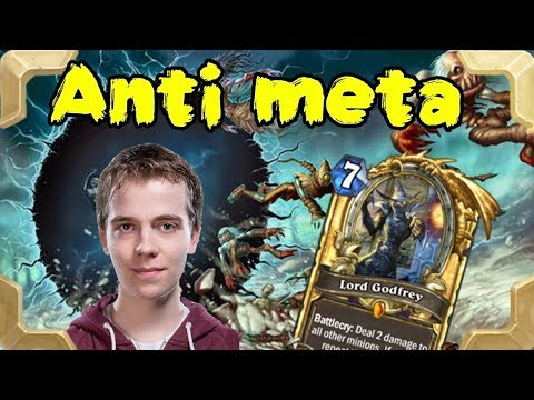 Thijs with an Anti meta control warlock deck (Rastakhan's Rumble)