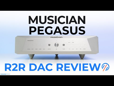 Musician Pegasus R2R DAC Review - Probably the Best R2R DAC up to $2K!