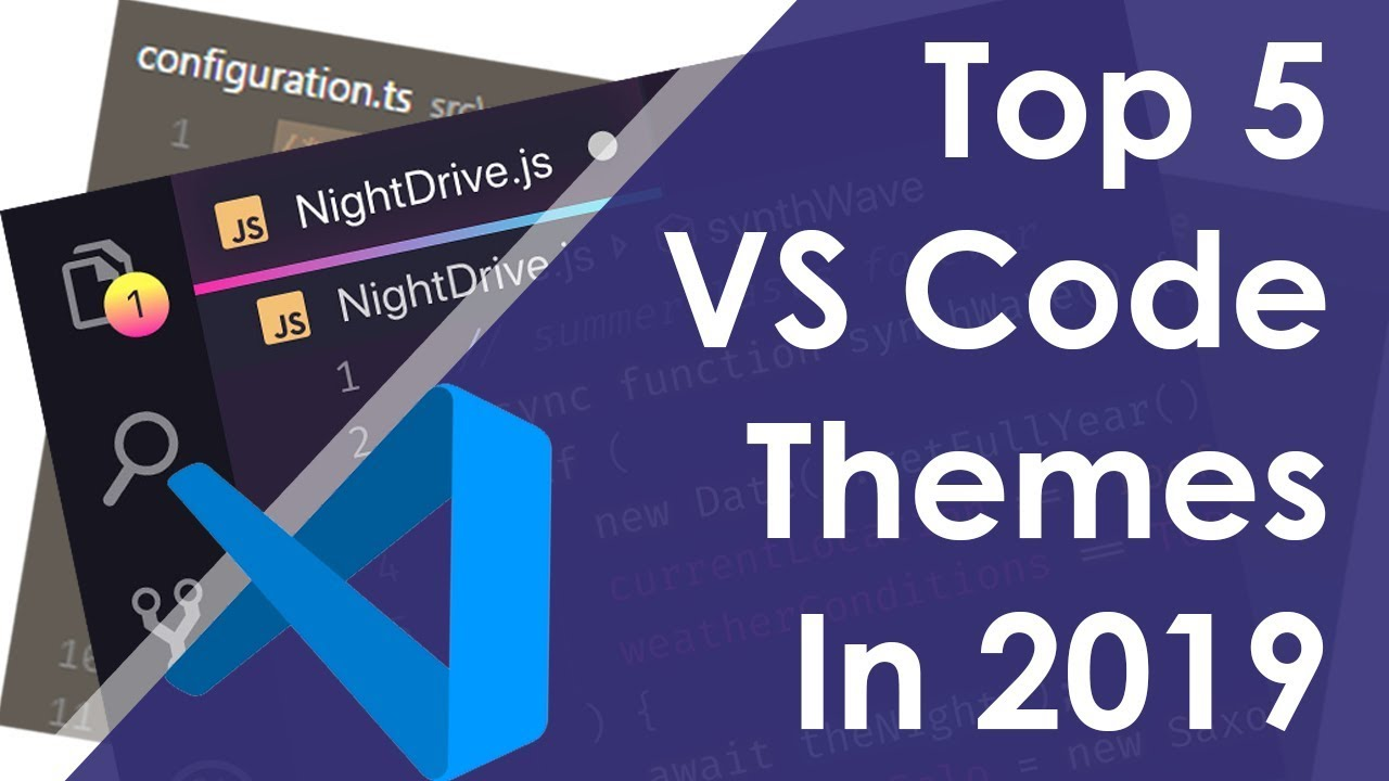 Top 5 VS Code Themes 2019