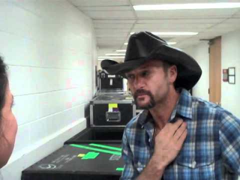 Tim McGraw Interview