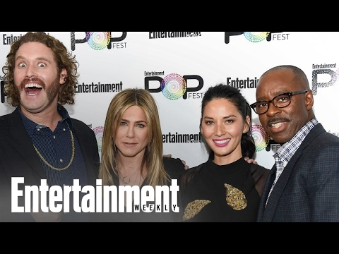 Office Christmas Party: How TJ Miller Annoys The Whole Cast | PopFest | Entertainment Weekly