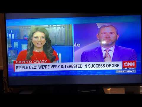 CNN's Julia Chatterley interviews CEO Brad Garlinghouse on Ripple and XRP