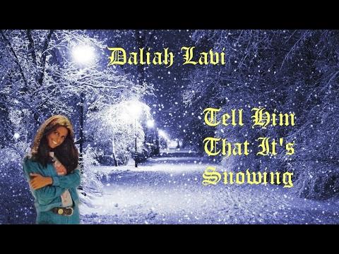 Daliah Lavi  Tell Him That Its Snowing 1972