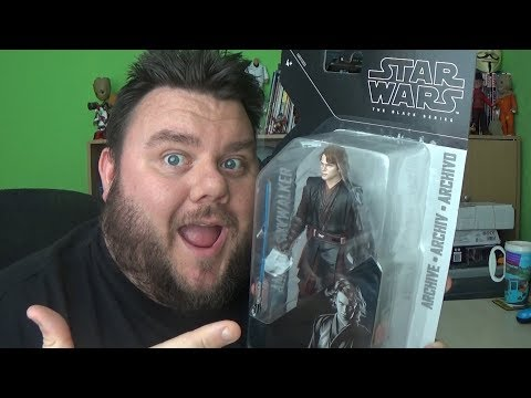 Anakin Skywalker Star Wars Black Series Archive Wave 2 Revenge Of The Sith Action Figure Review