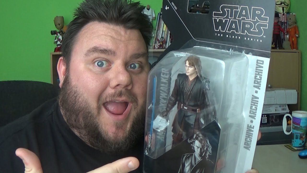 Anakin Skywalker Star Wars Black Series Archive Wave 2 Revenge Of The Sith Action Figure Review Youtube