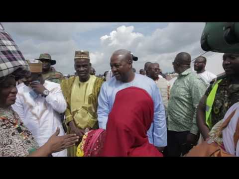 Inauguration of upgraded & expanded Tamale Airport YouTube
