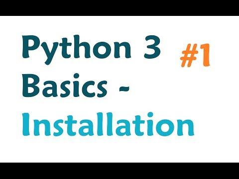 Installing Python 3 - How to install/use both Python 2 and Python 3