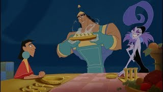 THE EMPERORS NEW GROOVE DINNER SCENE