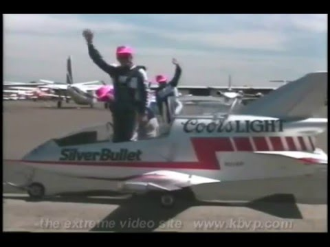 Coors Light Silver Bullet Jet Team Formation BD 5J Airshow World's Smallest Jets