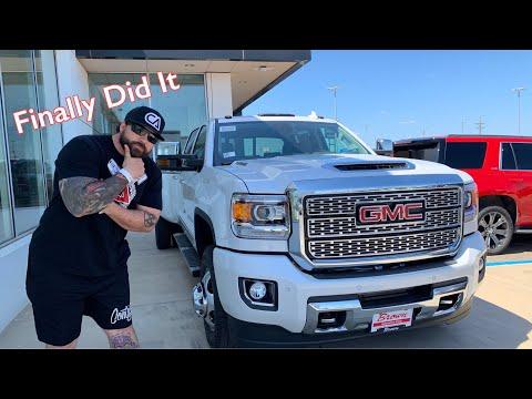 Giving You What You Wanted....2019 GMC Denali 3500HD