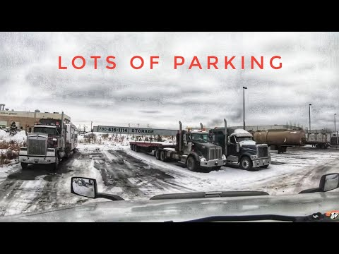 My Trucking Life | LOTS OF PARKING | #1852