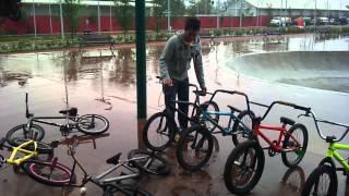 bmx bikes unboxing
