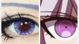 Tutorial : Anime Eye Makeup 66 • Kirigiri Kyouko(