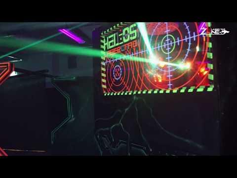 ADVENTURELAND DRESDEN - Lasertag im Einsatz
