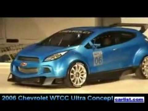 Chevrolet WTCC Ultra Concept before the 2007 North America International Auto Show (NAIAS)