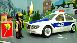 Мультики про машинки - полицейская и пожарная машина у видео Для детей - Пожар! Развивающие мультики