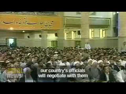 Bush to send envoy to Iran nuke talks