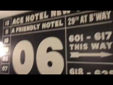 Hotel Review #004 - Ace Hotel New York - W 29th St and Broadway