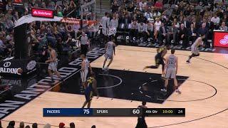 4th Quarter, One Box Video: San Antonio Spurs vs. Indiana Pacers