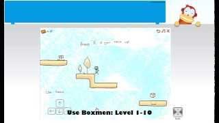 Use Boxmen Level 1-10