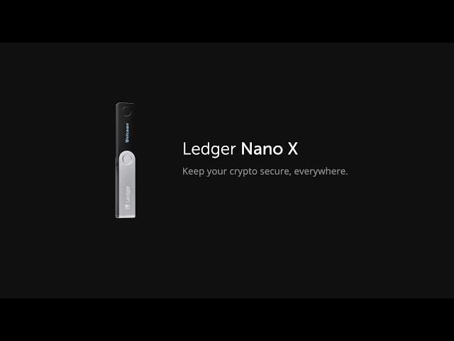 Ledger Nano X: Pairing your device