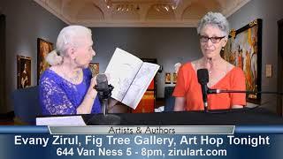 Evany Zirul, Artist, on Artists & Authors