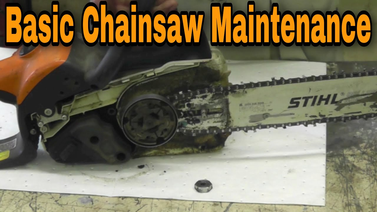 How To Do Basic Chainsaw Maintenance