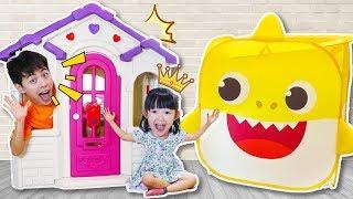 마슈 플레이 하우스 조립 공구놀이 Mashu build Playhouses for children - 마슈토이 Mashu ToysReview