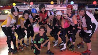 WGN Radio Recess Learns to Roller Derby