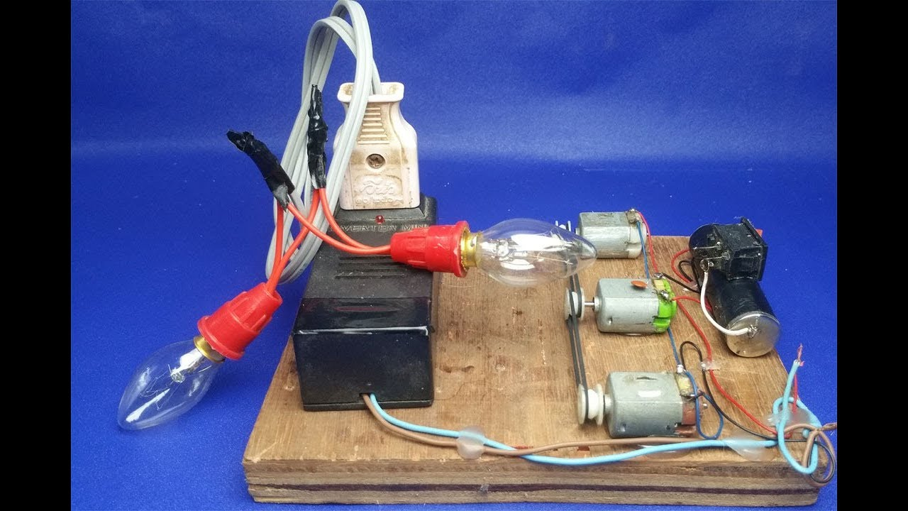12 Volt Dc Motor Wiring Free Energyhow To Make Dynamo 12v 220v Easy Energy Science Project Experiment