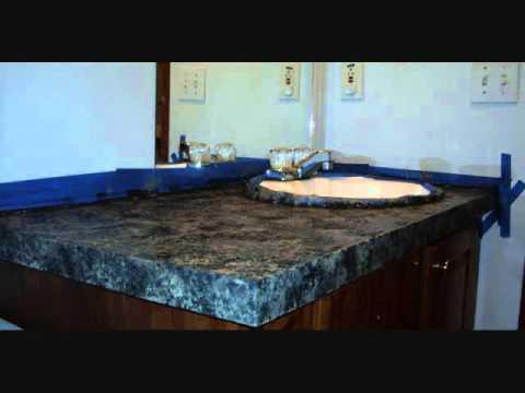 Giani Countertop Paint Youtube : GIANI Granite Countertop Paint - YouTube