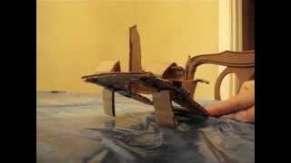 Cardboard Catapult Toy