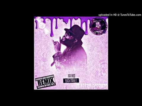 Rick Ross Can't Say No Ft Mariah Carey Chopped DJ Monster Bane Clarked Screwed Cover