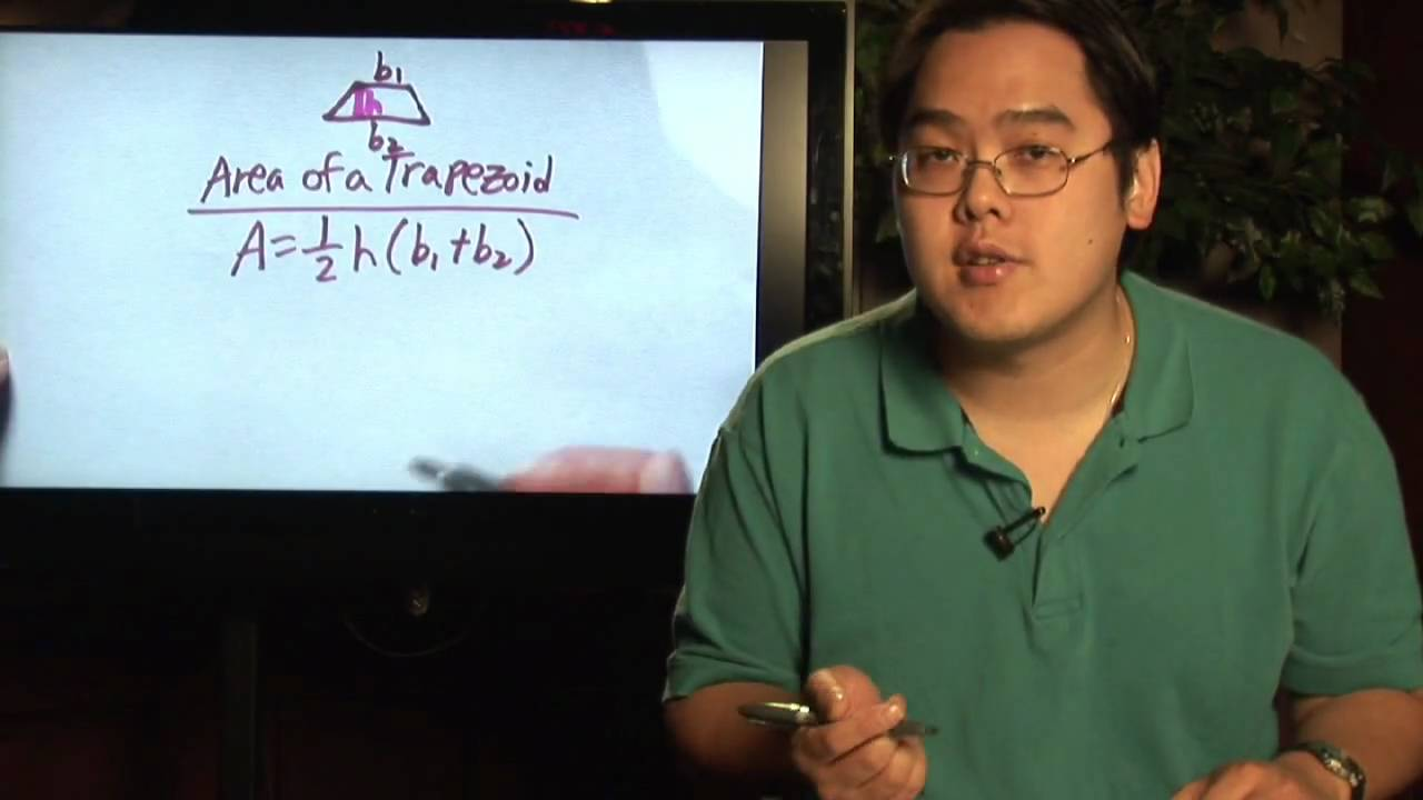Algebra & Math Help : Finding The Height Of A Trapezoid