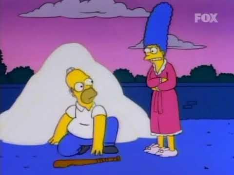 I Simpson ITA - Homer ruba e sorveglia lo zucchero