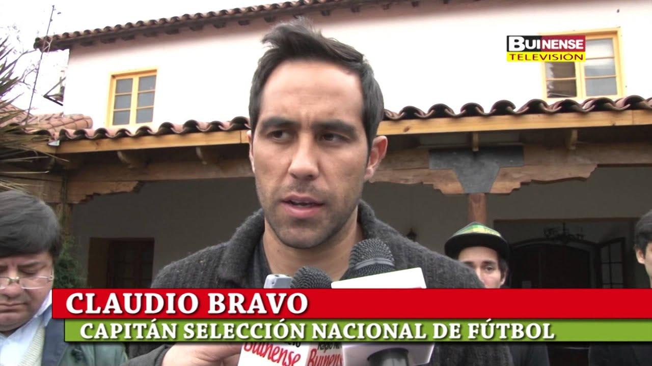 Claudio Bravo Dio Charla Motivacional A 20 Deportistas Buinenses